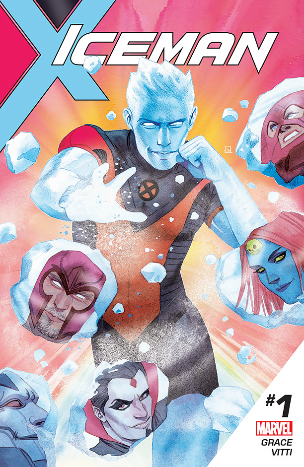 NO CROPS: Iceman Cover CR: Marvel