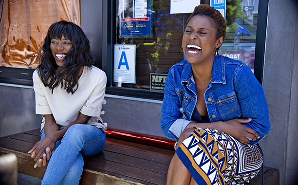 ALL CROPS: INSECURE Season 1, Episode 6 Air Date: 11/13/16 Pictured: L to R: Yvonne Orji, Issa Rae