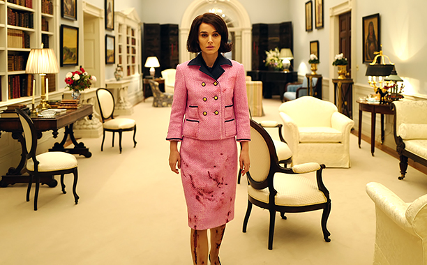 """NO CROPS: Natalie Portman as """"Jackie Kennedy"""" in JACKIE. Photo by Pablo Larrain. © 2016 Twentieth Century Fox Film Corporation All Rights Reserved"""