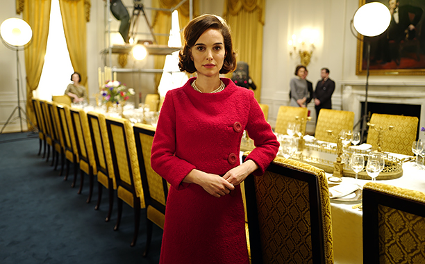 NO CROPS: Natalie Portman on the set of JACKIE. Photo by Pablo Larrain. © 2016 Twentieth Century Fox Film Corporation All Rights Reserved