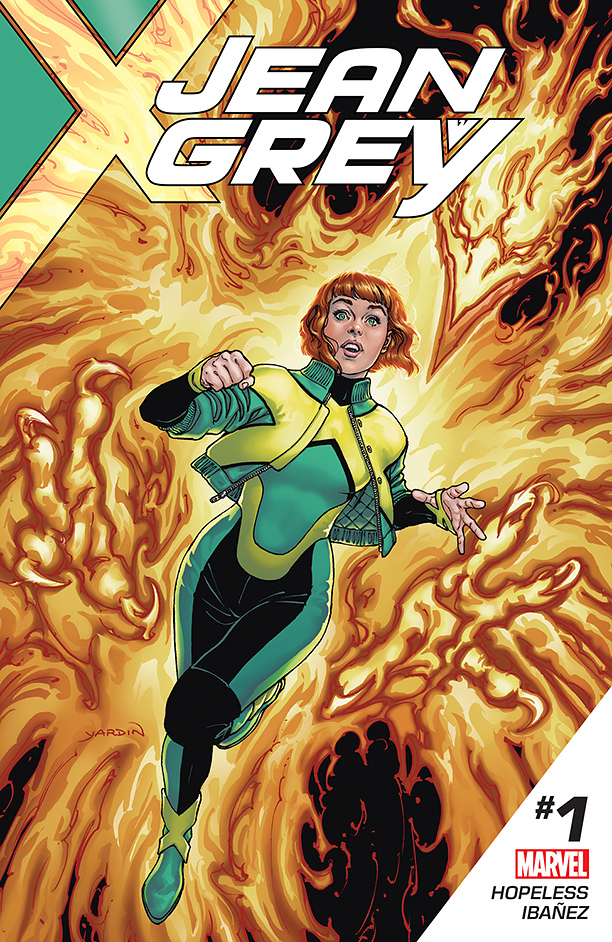 NO CROPS: Jean Grey Cover CR: Marvel