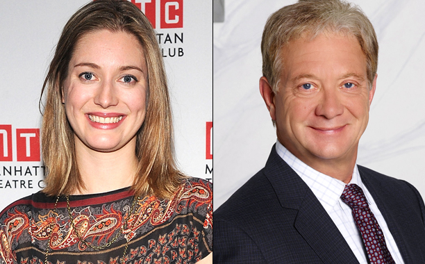 ALL CROPS: Zoe Perry ; Jeff Perry as Cyrus Scandal;