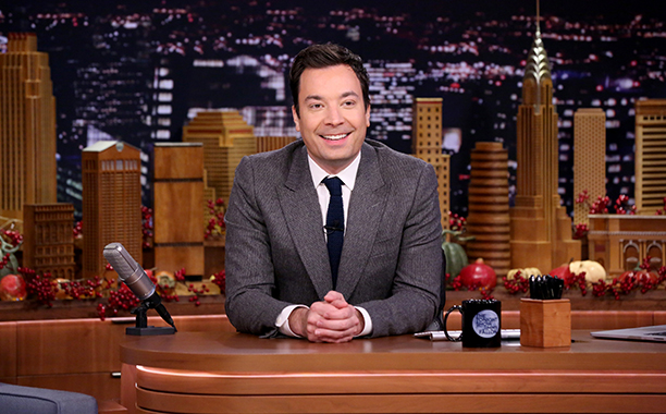 ALL CROPS: 625366526 THE TONIGHT SHOW STARRING JIMMY FALLON -- Episode 0577 -- Pictured: Host Jimmy Fallon on November 23, 2016 -- (Photo by: Andrew Lipovsky/NBC/NBCU Photo Bank via Getty Images)