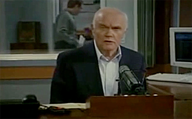 ALL CROPS: Sen. John Glenn's Amazing UFO Statement On Frasier