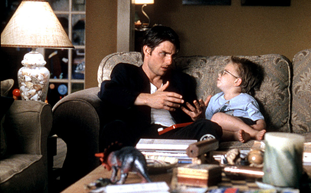 ALL CROPS: JERRY MAGUIRE, Tom Cruise, Jonathan Lipnicki, 1996, (c)TriStar Pictures/courtesy Everett Collection