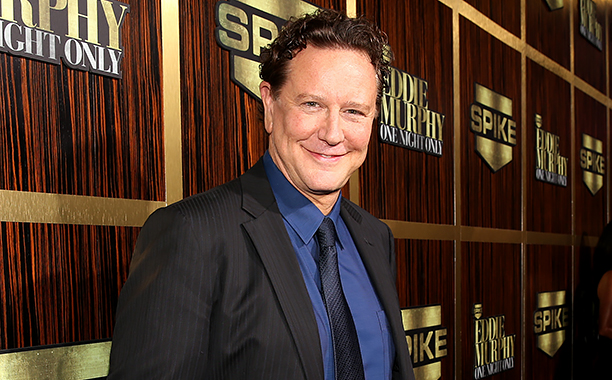 """ALL CROPS: 155404933 Judge Reinhold arrives at Spike TV's """"Eddie Murphy: One Night Only"""" at the Saban Theatre on November 3, 2012 in Beverly Hills, California. (Photo by Christopher Polk/Getty Images)"""