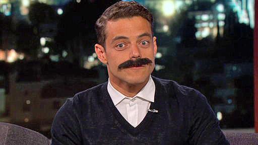 Rami Malek on Kimmel