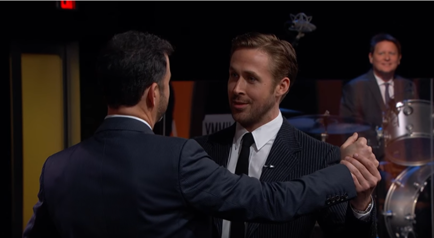 Gosling on Kimmel