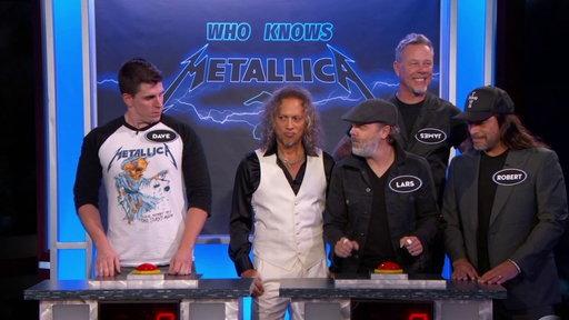 Metallica on Kimmel