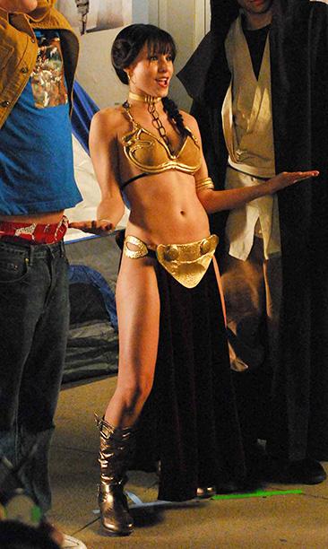 Kristen Bell as Princess Leia