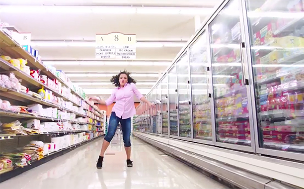 ALL CROPS: Laurie Hernandez - dancing to SING