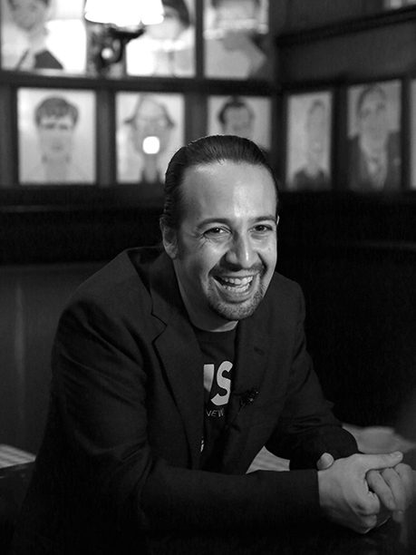 GALLERY: 533952246 Lin-Manuel Miranda attends the Lin-Manuel Miranda 'Hamilton' Sardi's Portrait unveiling at Sardi's on May 19, 2016 in New York City. (Photo by Walter McBride/WireImage)