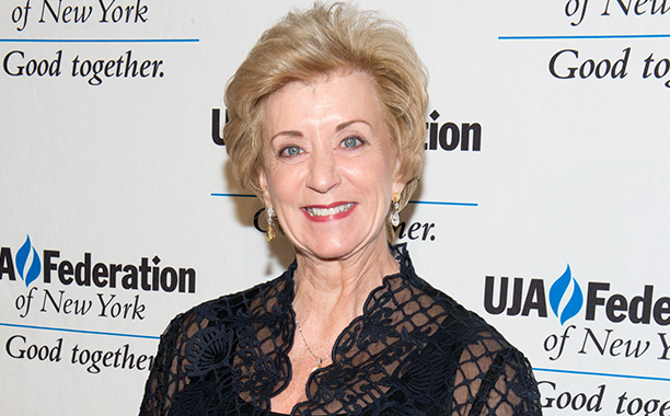 ALL CROPS: 475666032 Linda McMahon attends the UJA-Federation New York's Entertainment Division Signature Gala at 583 Park Avenue on June 2, 2015 in New York City. (Photo by Noam Galai/WireImage)