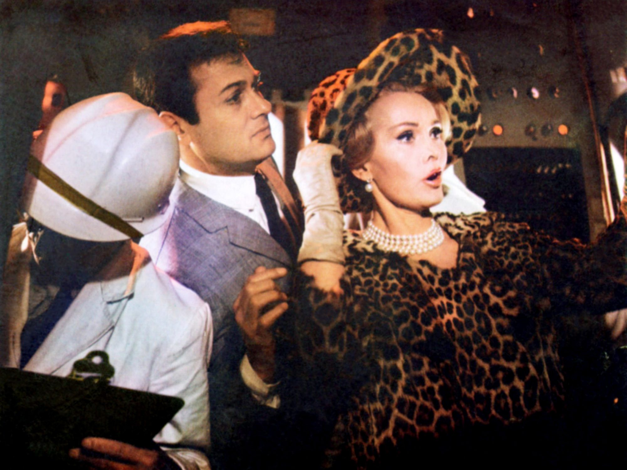DROP DEAD DARLING, (aka ARRIVEDERCI, BABY!), facing right from left: Tony Curtis, Zsa Zsa Gabor, 196
