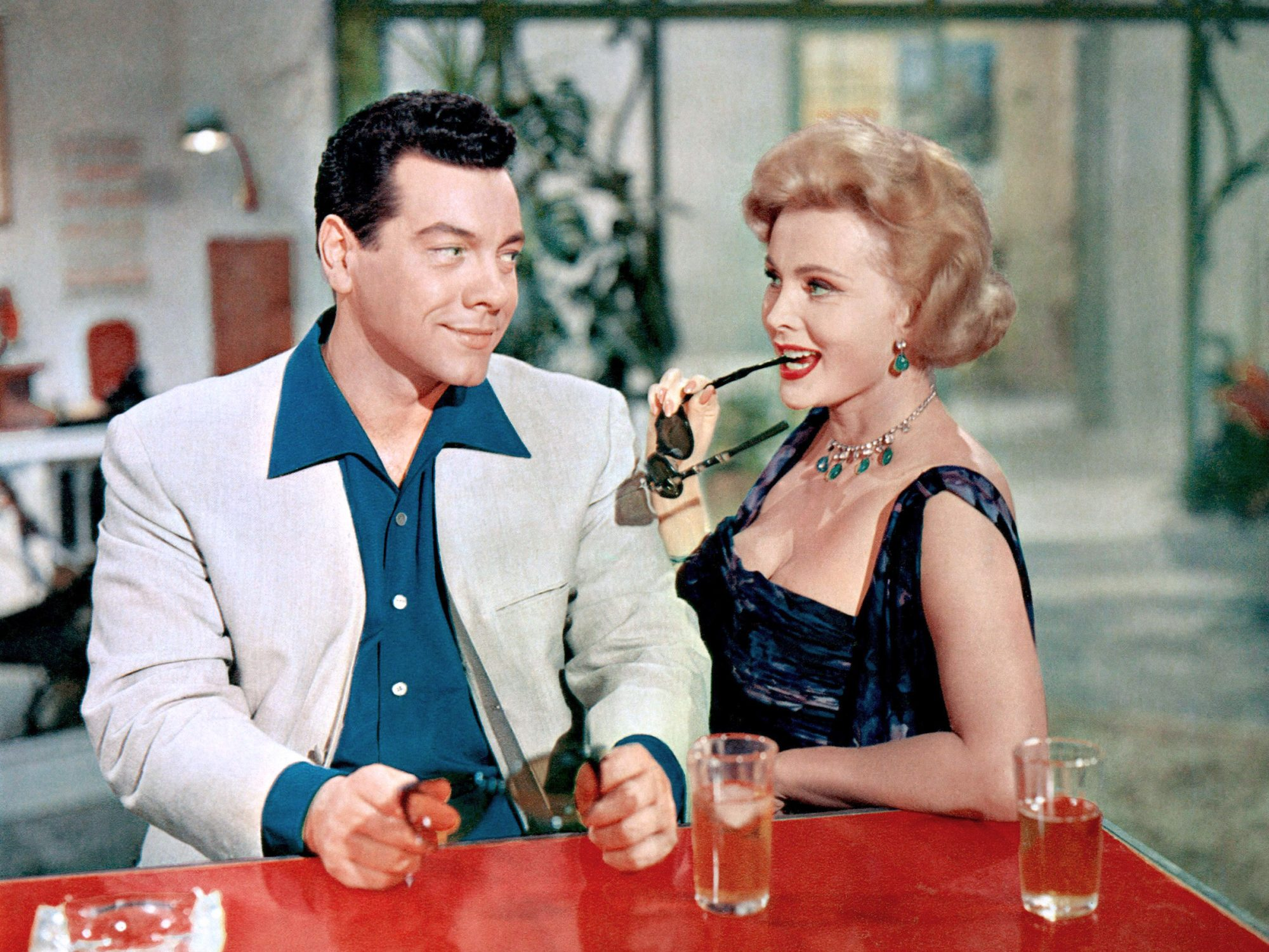 FOR THE FIRST TIME, Mario Lanza, Zsa Zsa Gabor, 1959