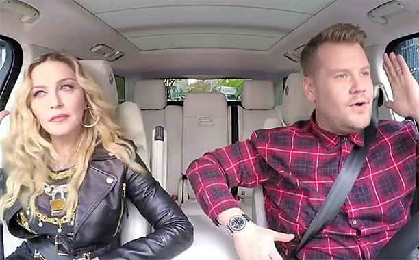 ALL CROPS: Madonna Carpool Karaoke: Coming Wednesday