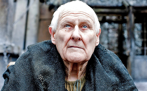 ALL CROPS: Maester Aemon Peter Vaughan Game of Thrones