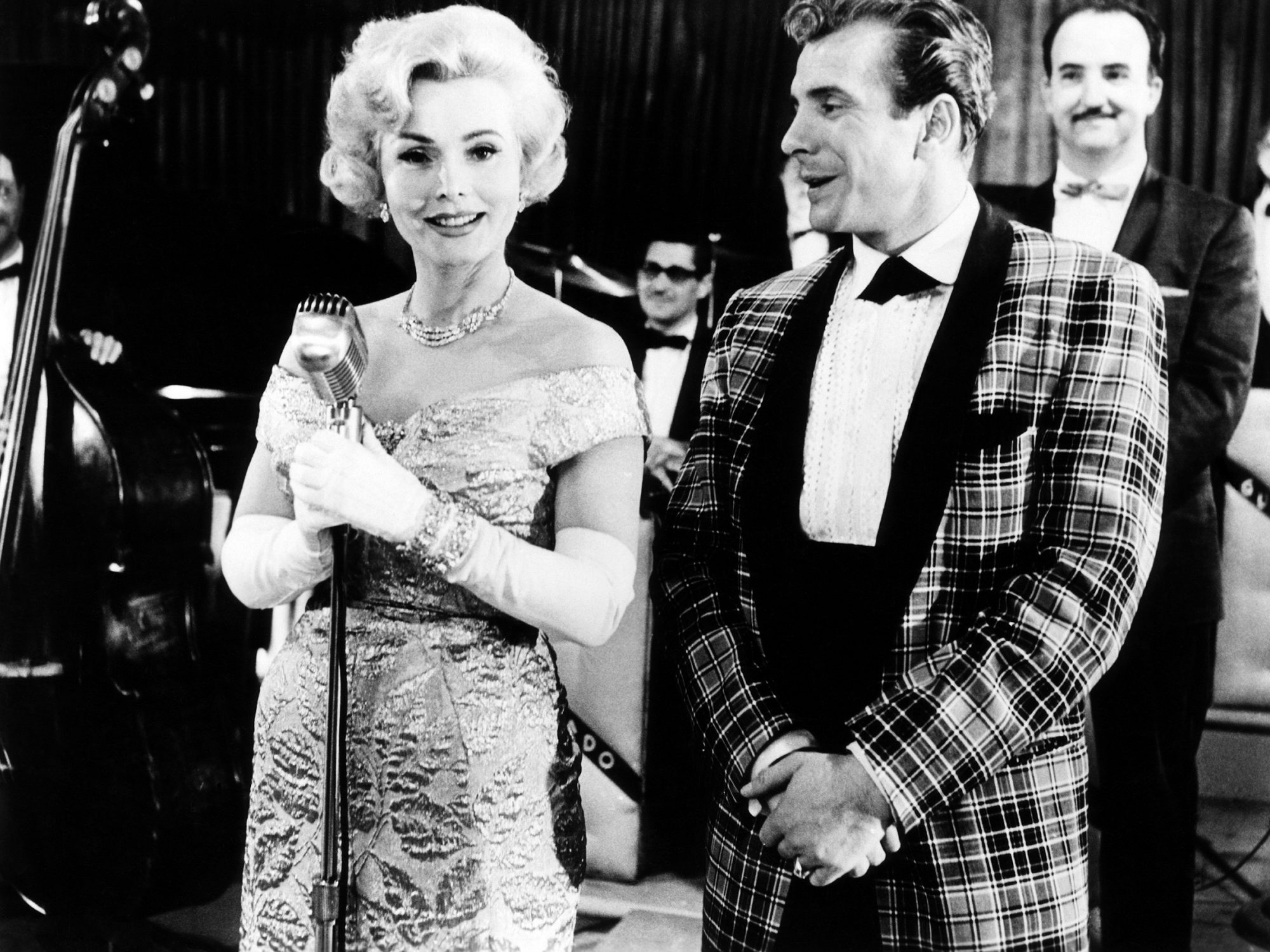 COUNTRY MUSIC HOLIDAY, Zsa Zsa Gabor, Ferlin Husky, 1958