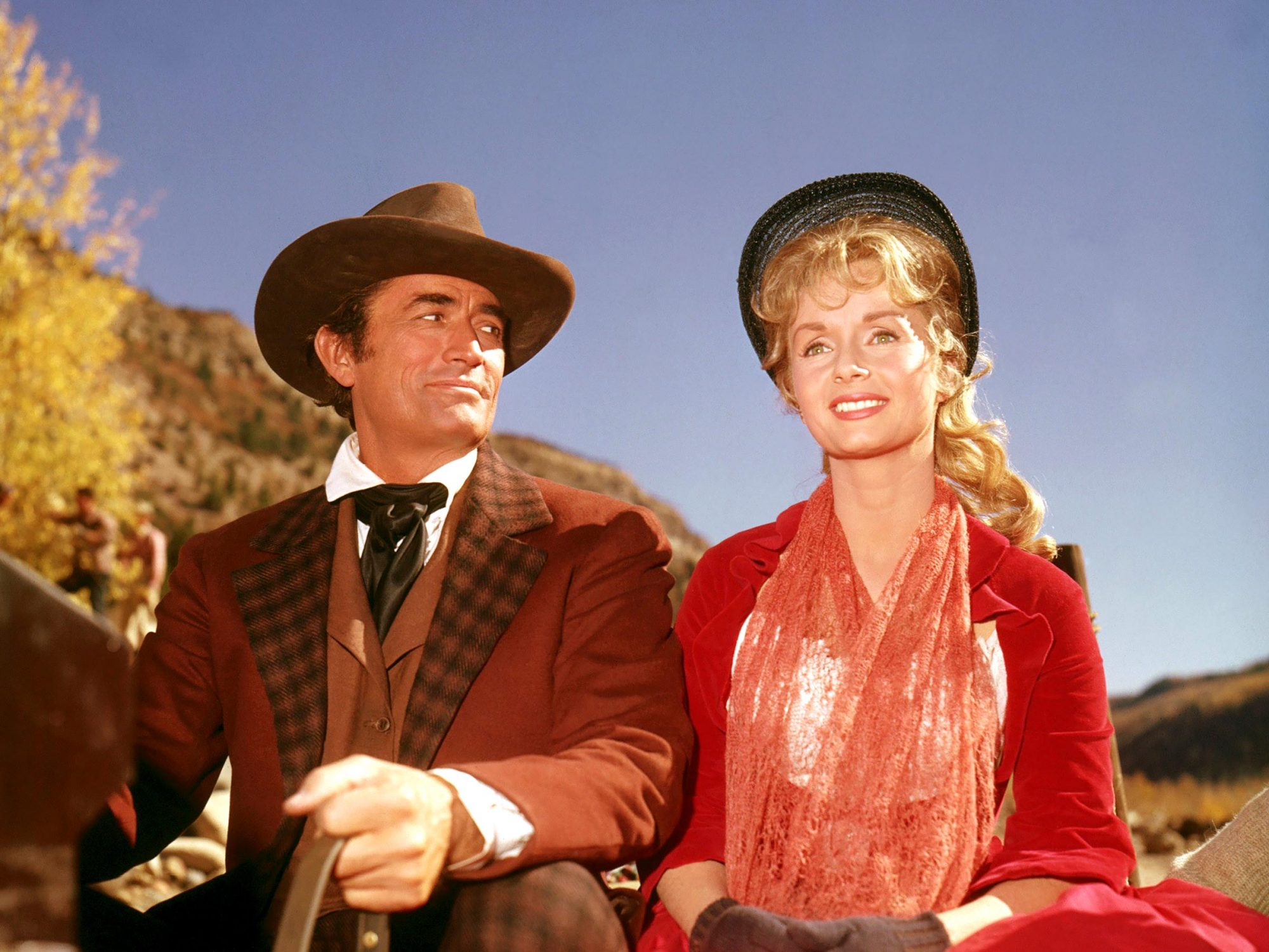 HOW THE WEST WAS WON, Gregory Peck, Debbie Reynolds, 1962