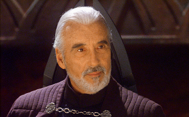 GALLERY: 'Star Wars' Timeline: STAR WARS EPISODE II: ATTACK OF THE CLONES, Christopher Lee, 2002