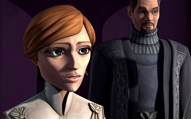 GALLERY: 'Star Wars' Timeline: The Clone Wars Mon Mothma and Bail Organa