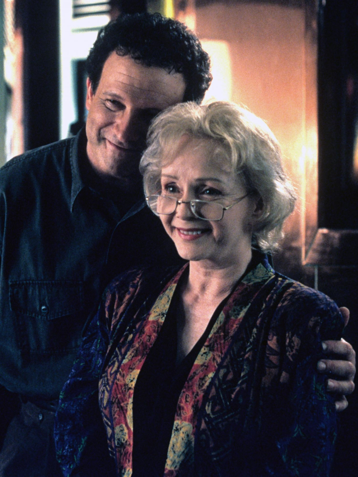 MOTHER, from left: Albert Brooks, Debbie Reynolds, 1996, © Paramount/courtesy Everett Collection