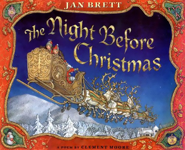 NO CROPS: The Night Before Christmas by Clement Moore and Jan Brett (1998)