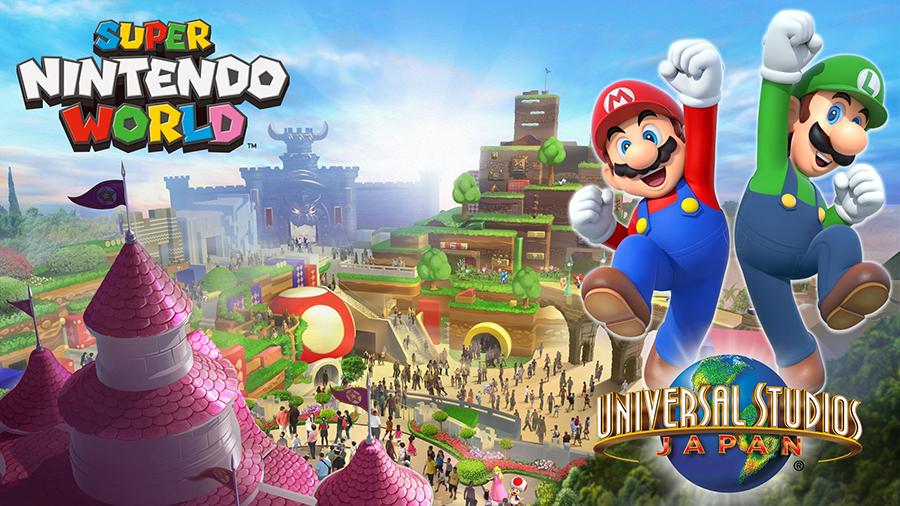 ALL CROPS: Nintendo of America @NintendoAmerica Dec 11 #SUPERNINTENDOWORLD featuring attractions based on many Nintendo titles is coming to Universal Studios Japan!