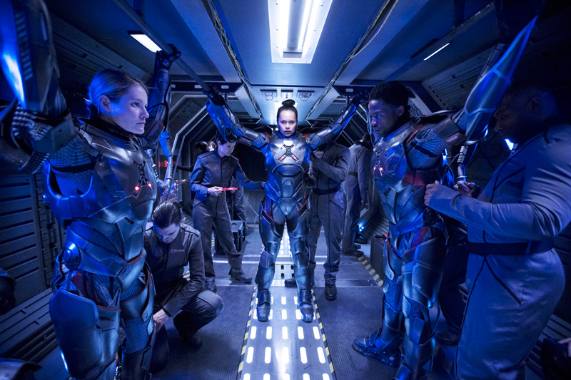 All Crops: THE EXPANSE Episode: Safe Season 2. Episode 1 Air Date: January 2017 Pictured: Frankie Adams Writer: NM Title: Object Name: NUP_173908_0142.JPG Credit: Rafy/Syfy