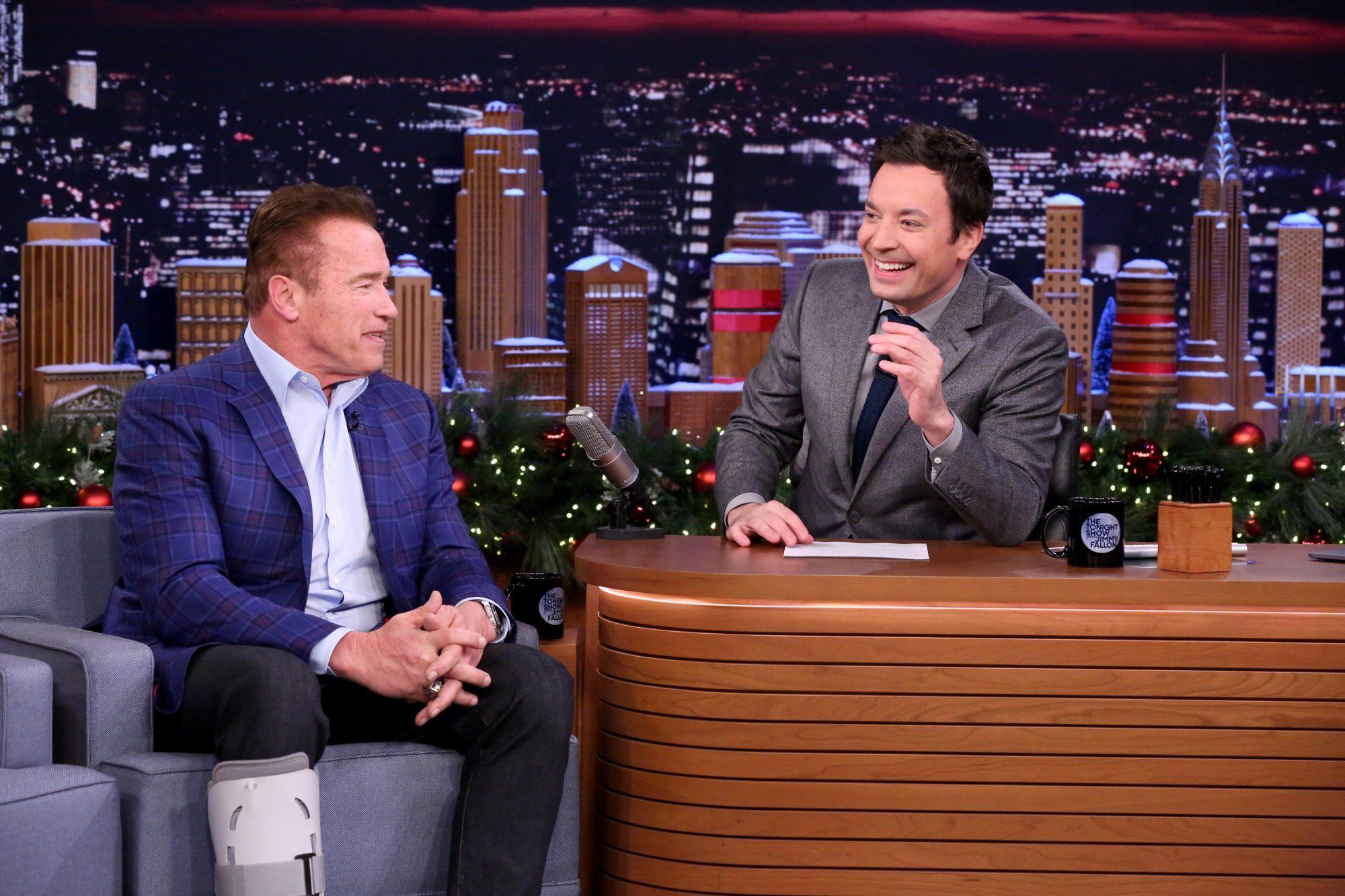 Schwarzenegger on Fallon
