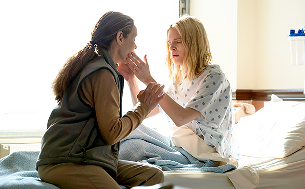 ALL CROPS: RECAP: 12/15/16: THE OA Season 1 EPISODE 1 PHOTO CREDIT JoJo Whilden/Netflix PICTURED (Left to Right) Alice Krige, Brit Marling