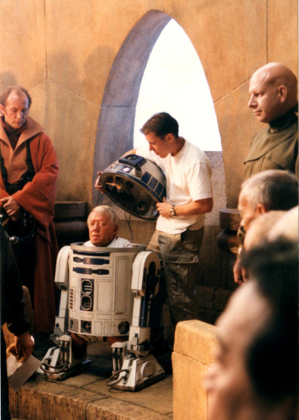Kenny Baker and Kevin Baker Star Wars Phantom Menace