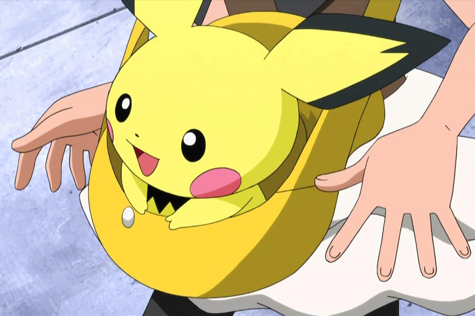 Pichu from Pokemon Anime CR: Pokemon