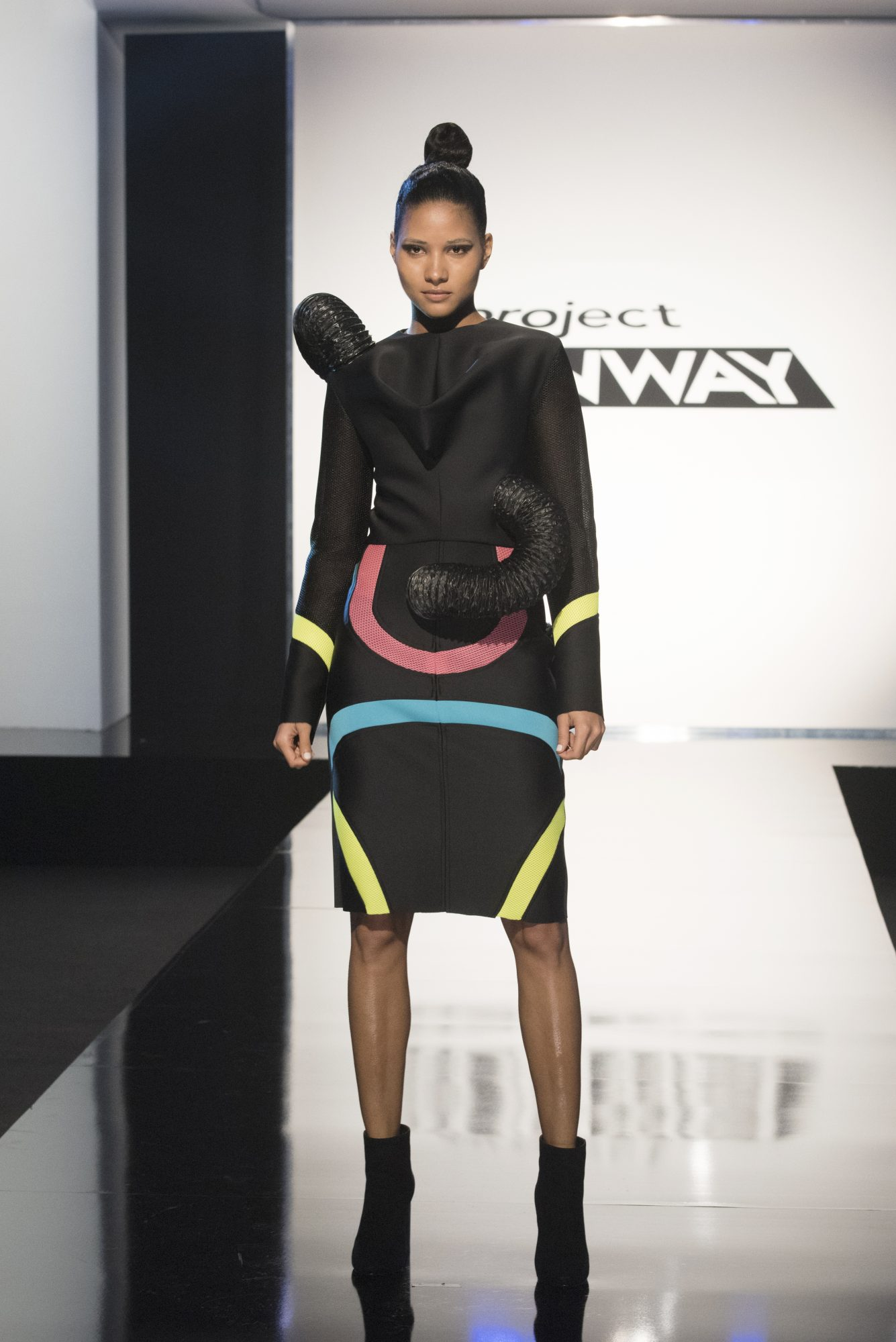 Project Runway season 15, episode 11, Cornelius look