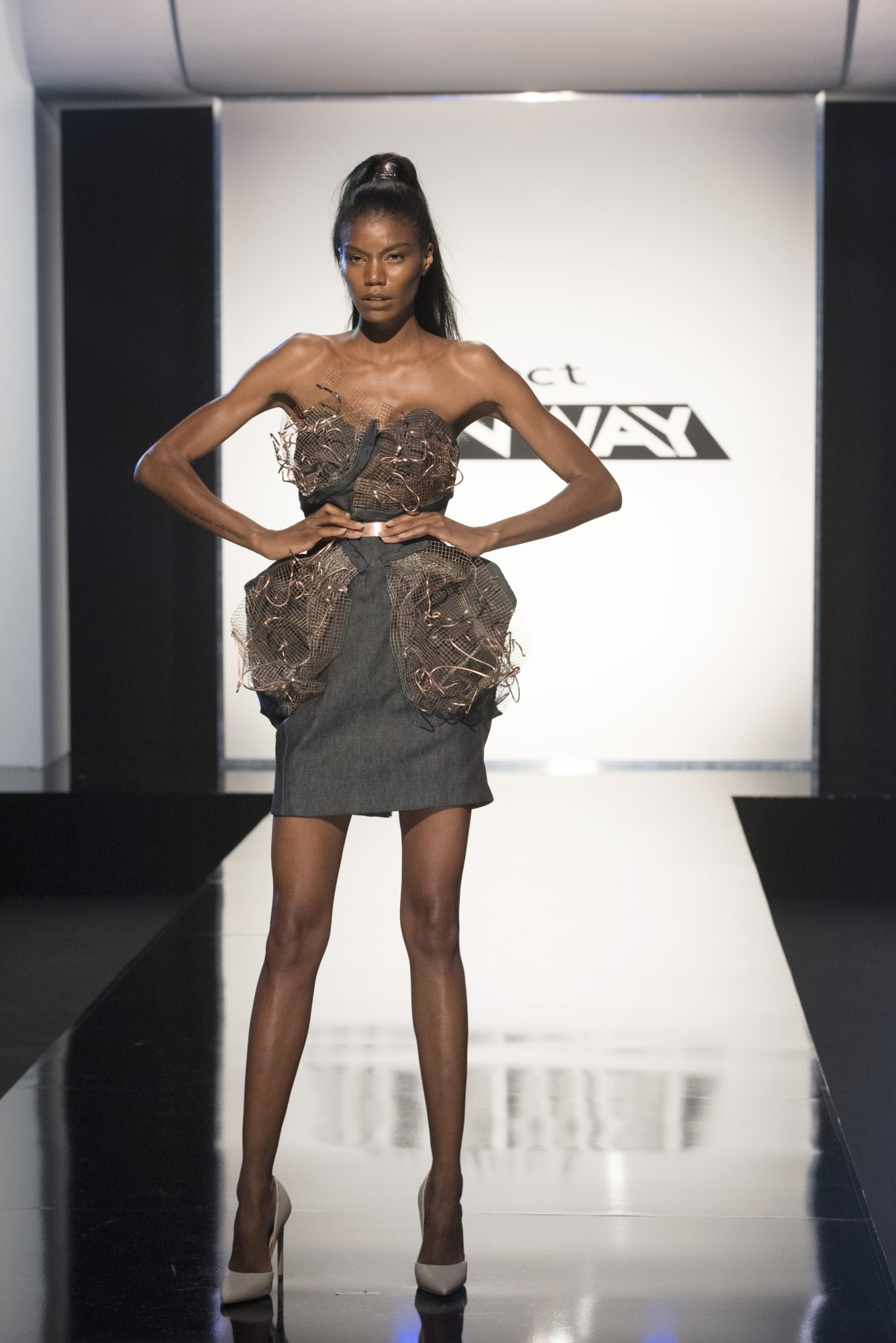 Project Runway season 15, episode 11, Mah-Jing look