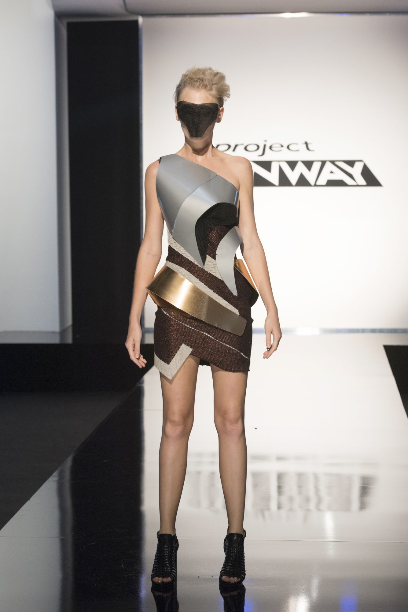 Project Runway season 15, episode 11, Roberi look