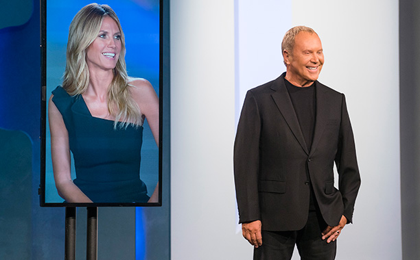 RECAP: 12/15/16 All Crops: Project Runway (L to R) Heidi Klum and guest judge Michael Kors judge the thirteenth challenge of Project Runway season 15, airing Thursday, December 15, at 9pm ET/PT on Lifetime. Photo by Barbara Nitke