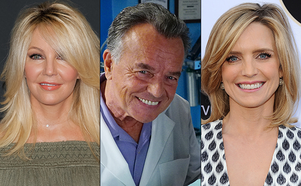 ALL CROPS: Heather Locklear (591366042), Ray Wise (626834840) & Courtney Thorne Smith (473701560)