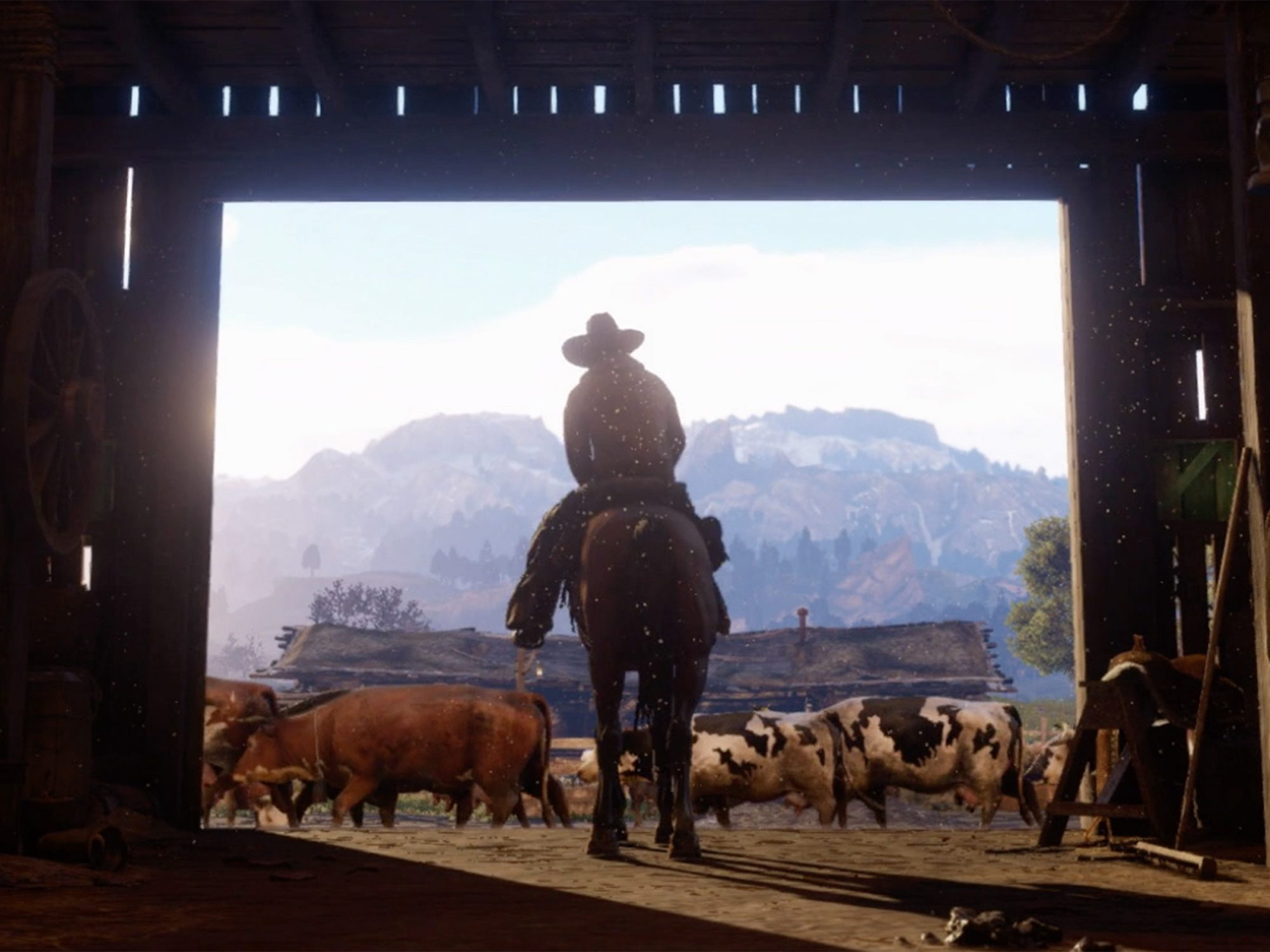 2. Red Dead Redemption 2 (Multiplatform; Fall 2017)