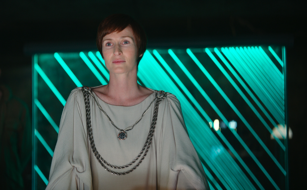 ALL CROPS: Genevieve O'Reilly as Mon Mothma in Rogue One - Ph: Film Frame ©Lucasfilm LFL