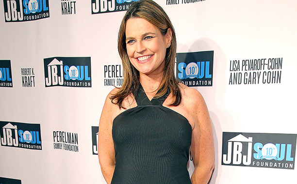 ALL CROPS: 613062664 Savannah Guthrie attends the Jon Bon Jovi Soul Foundation 10 Year Anniversary at the Garage on October 6, 2016 in New York City. (Photo by Paul Zimmerman/WireImage)