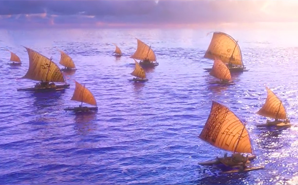 All Crops: Moana Clip Boats Screengrab