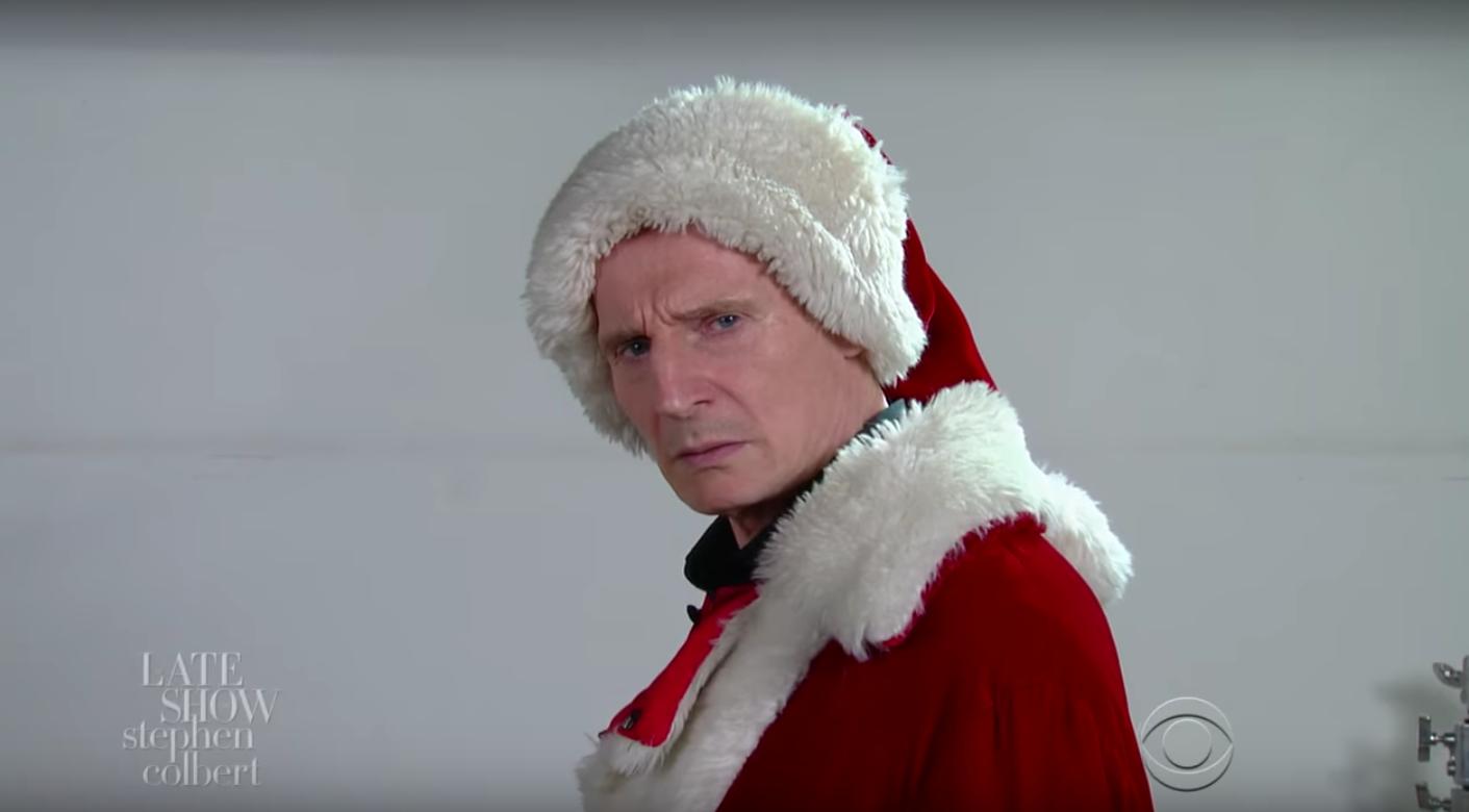 TV: Liam Neeson as Santa Claus