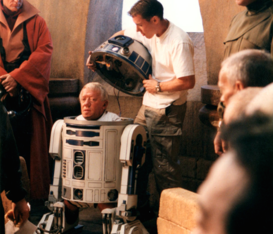 Phantom Menace Kenny Baker