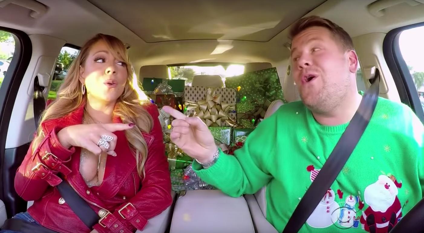 TV: Carpool Karaoke Christmas edition
