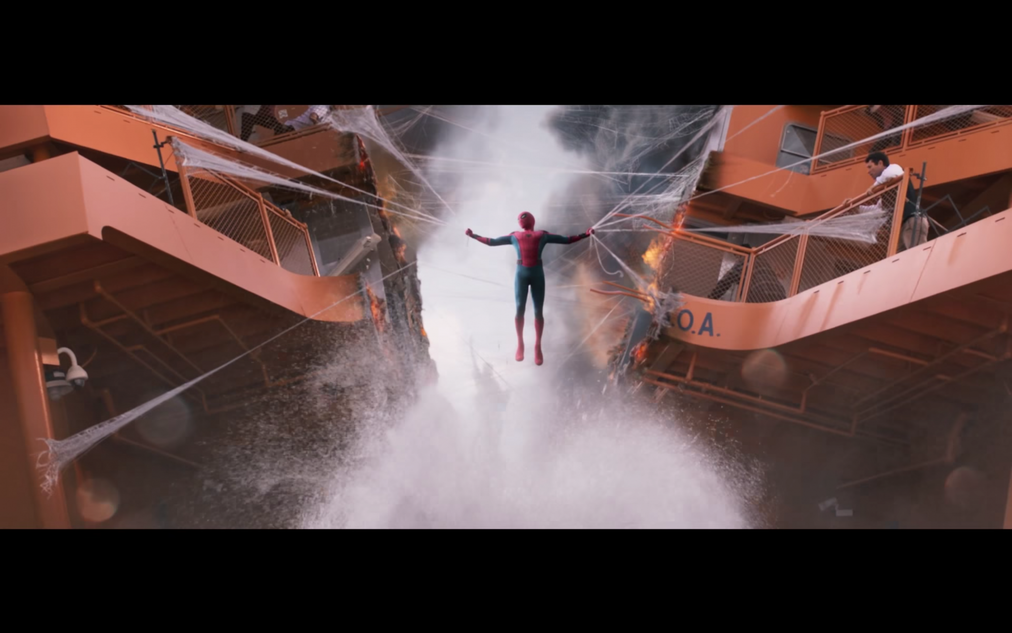 Spider-Man Homecoming trailer screengrab