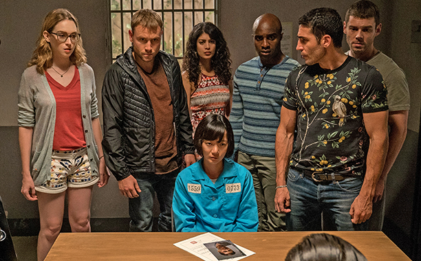 ALL CROPS: SENSE8: A CHRISTMAS SPECIAL - PRODUCTION STILLS - 003 SEASON Christmas Special PHOTO CREDIT Murray Close