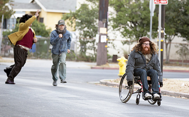 RECAP: 12/4/16: ALL CROPS: William H. Macy as Frank Gallagher and Zack Pearlman as Neil in Shameless (Season 7, episode 10) - Photo: Paul Sarkis/SHOWTIME