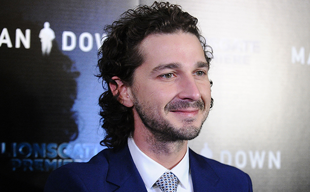 ALL CROPS: 626935922 Actor Shia LaBeouf attends the premiere of 'Man Down' at ArcLight Hollywood on November 30, 2016 in Hollywood, California. (Photo by Jason LaVeris/FilmMagic)