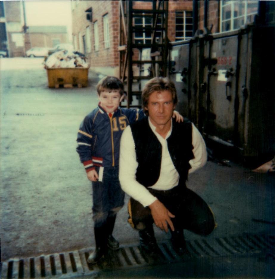 Han Solo and Kevin Baker Empire Strikes Back